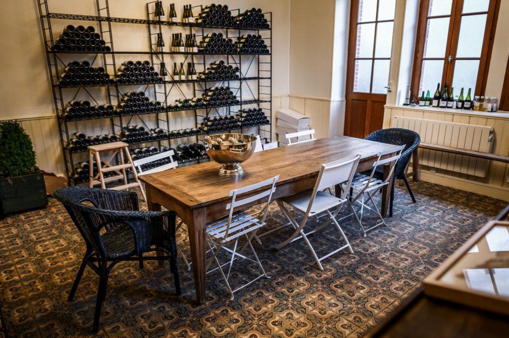 Domaine Armand Heitz_salle de degustation